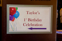 Taylor Brielle's FIRST birthday party 7-25-15
